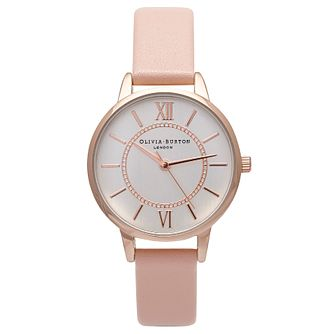 Olivia Burton Wonderland Ladies' Rose Gold Plated Watch - Product number 9418059