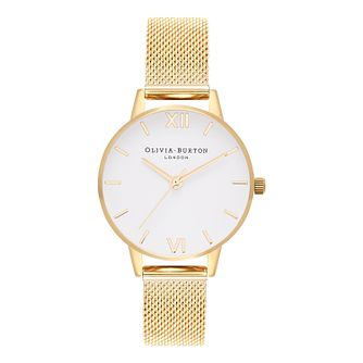 Olivia Burton Yellow Gold Metal Plated Bracelet Watch - Product number 9419179
