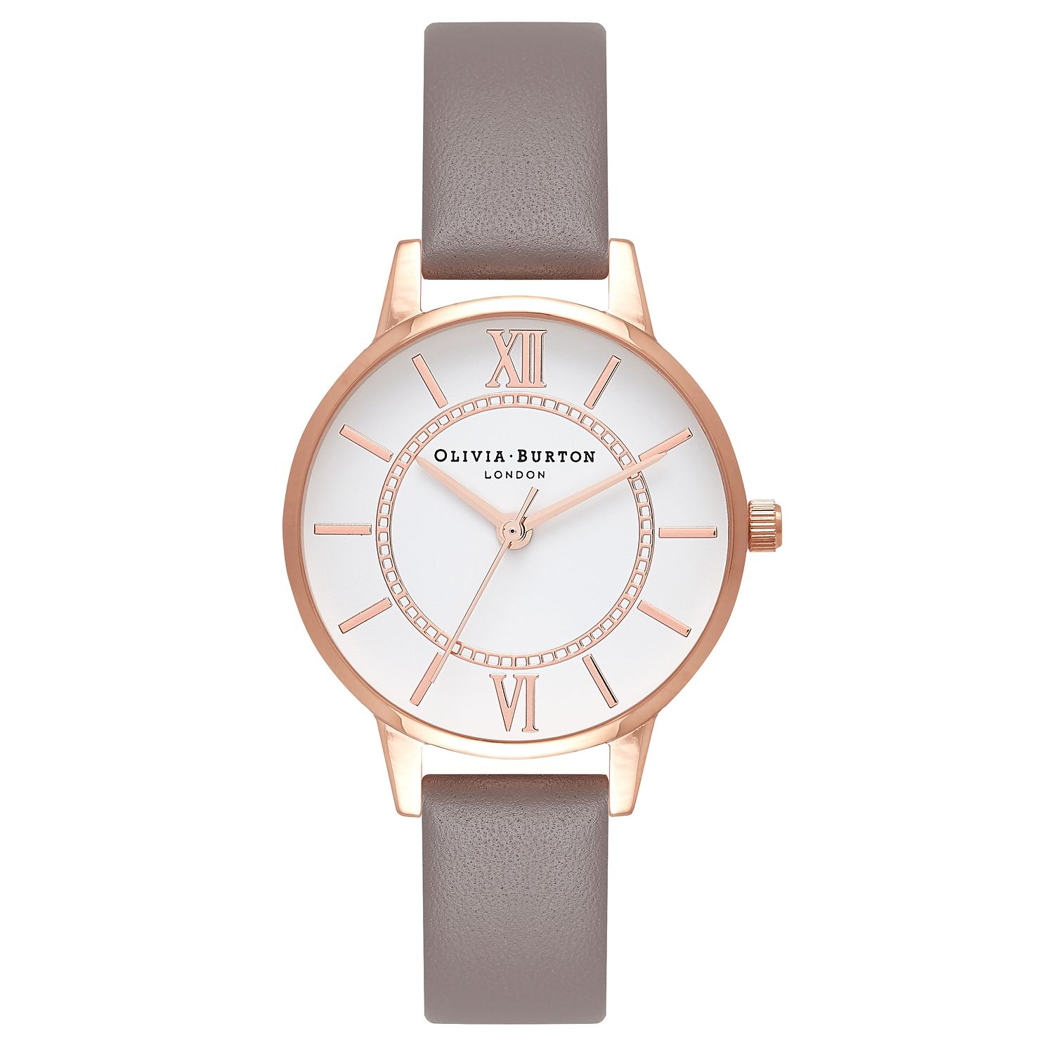 Olivia Burton London Rose Gold Metal Plated Watch - Product number 9419381