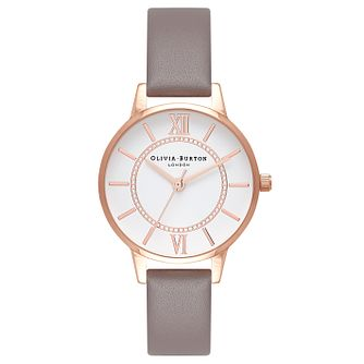 Olivia Burton London Ladies' Rose Gold Plated Watch - Product number 9419381
