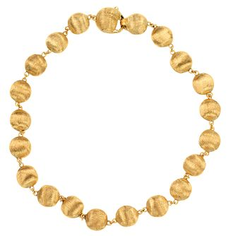 Marco Bicego 18ct Yellow Gold Beaded Bracelet - Product number 9420800