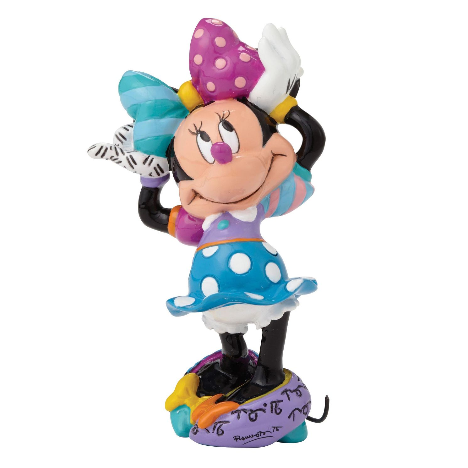 Disney Britto Minnie Mouse Mini Figurine - Product number 9422234