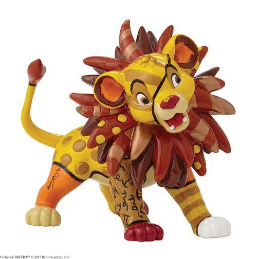Disney Britto The Lion King Simba Mini Figurine - Product number 9422366
