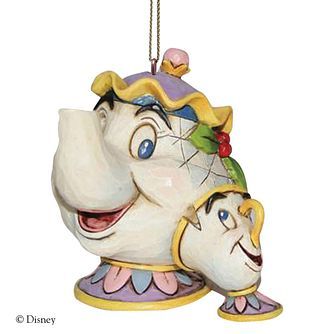 Disney Traditions Mrs Potts Hanging Ornament - Product number 9422412