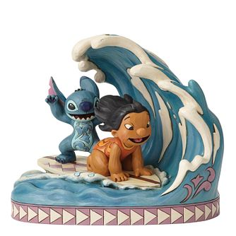 Disney Traditions Lilo And Stitch Catch The Wave Figurine - Product number 9422528