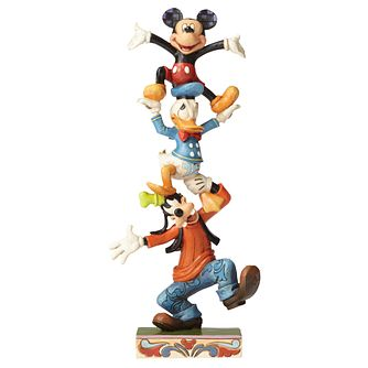 Disney Traditions Mickey & Friends Teetering Tower Figurine - Product number 9422544