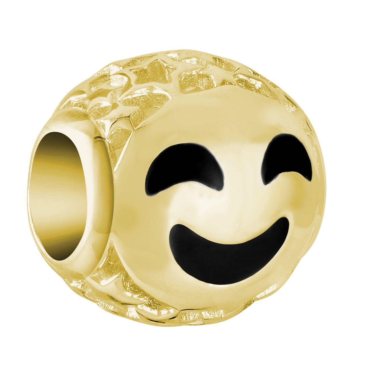 Chamilia Emoticon Smiley Face Gold Plated Charm - Product number 9425276