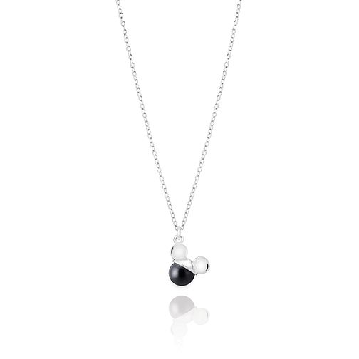 Chamilia Disney Mickey Mouse Black Pearl Necklace - Product number 9426132