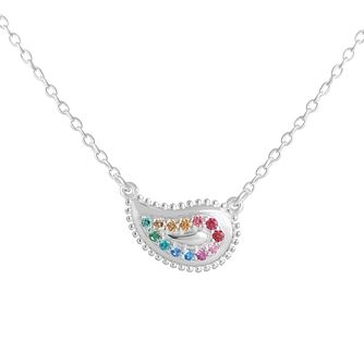 Chamilia Rainbow Pave Paisley Necklace - Product number 9426329