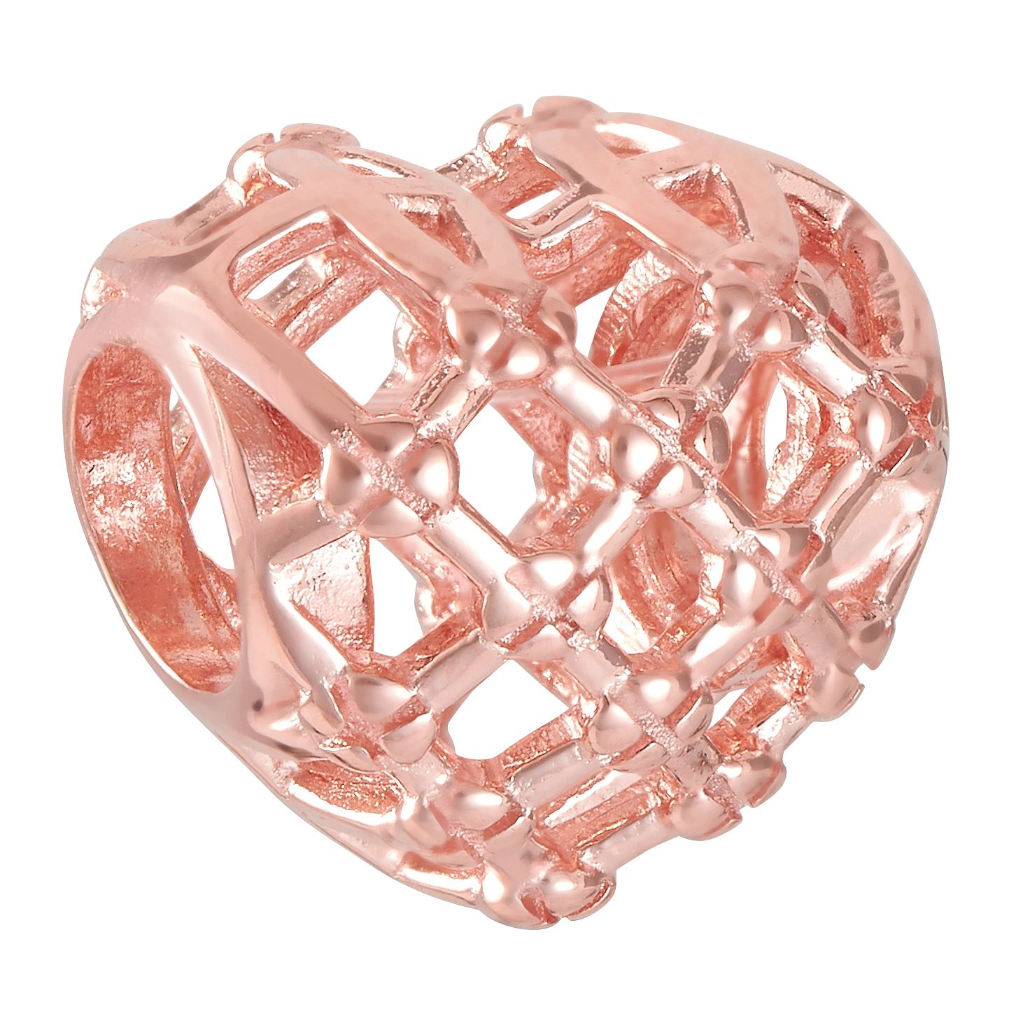 Chamilia Woven Heart Blush Charm - Product number 9426515