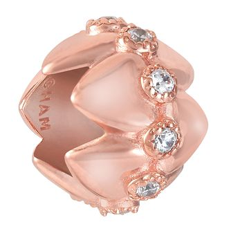 Chamilia Tiara Nested Heart Blush Charm - Product number 9426833
