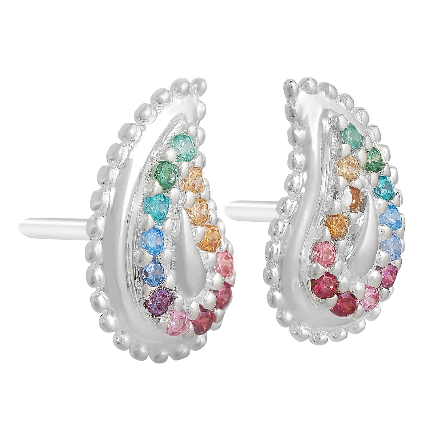 Chamilia Rainbow Pave Paisley Earrings - Product number 9427295