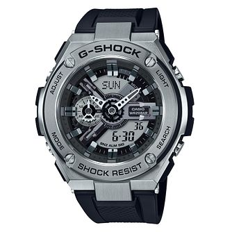 Casio G-Shock G-Steel Men's Black Resin Strap Watch - Product number 9427481