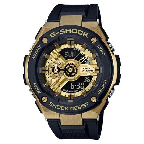 Casio G-Shock G-Steel Men's Black Resin Strap Watch - Product number 9427554