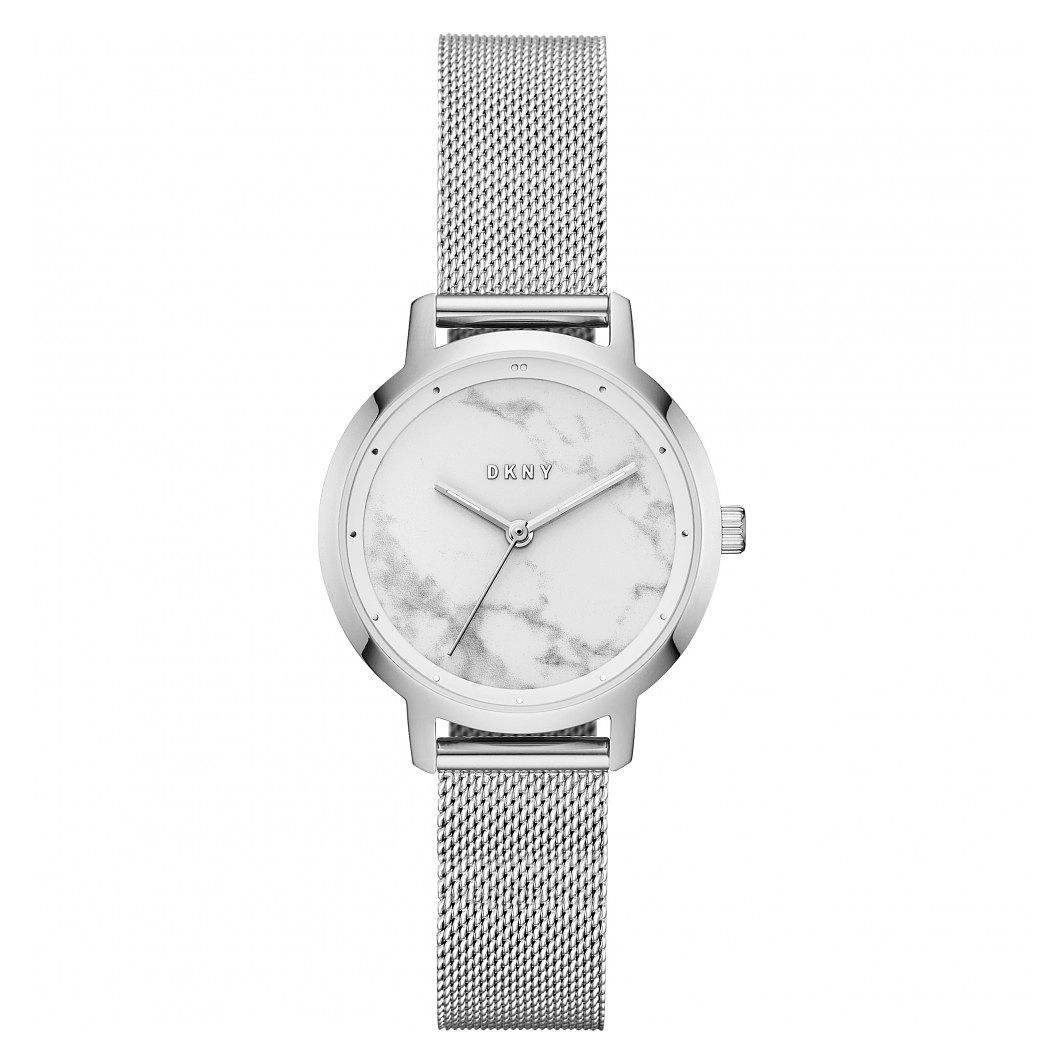DKNY Modernist Ladies' Stainless Steel Mesh Bracelet Watch - Product number 9428704
