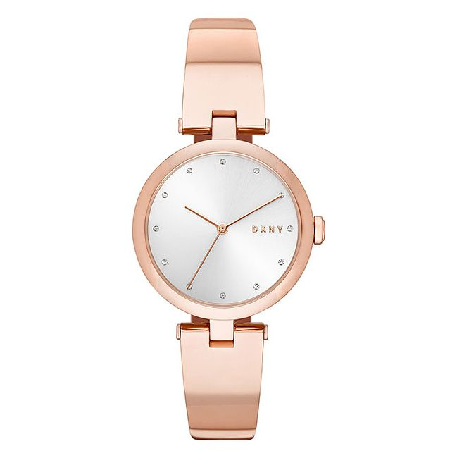 Dkny Dama Ladies' Rose Gold Plated Bracelet Watch - Product number 9428720