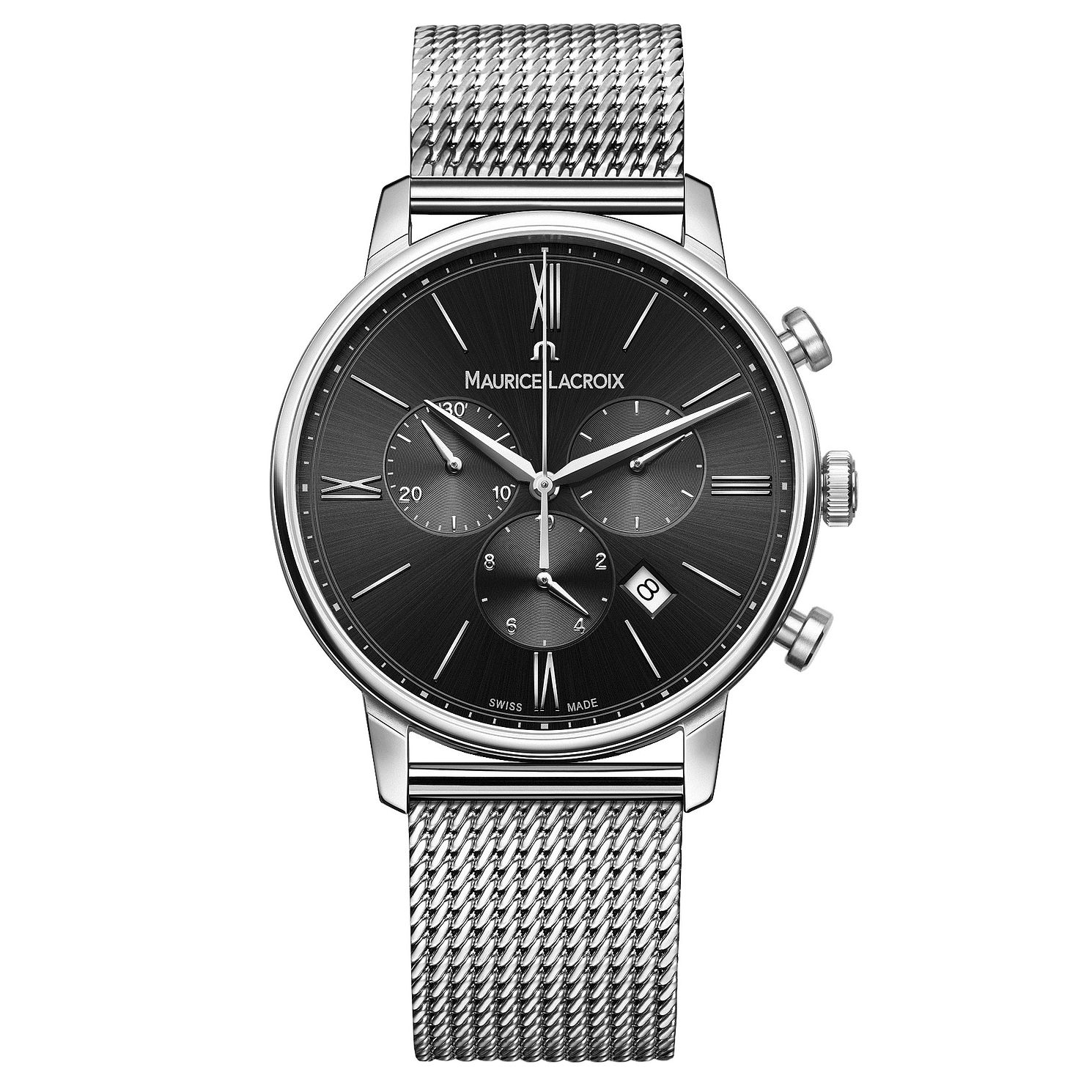 Maurice Lacroix Eliros Men's Stainless Steel Bracelet Watch - Product number 9429980