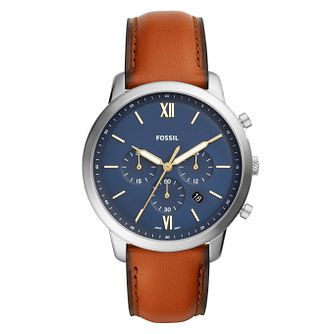 Fossil Neutra Chronograph Brown Leather Watch - Product number 9430822