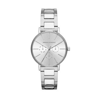 Armani Exchange Silver Plated Stainless Steel Watch - Product number 9431365