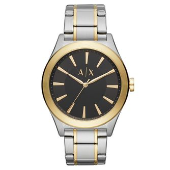 Armani Exchange Nico Men's Two-Tone Bracelet Watch - Product number 9431454