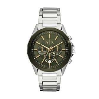 Armani Exchange Silver Plated Stainless Steel Watch - Product number 9431462