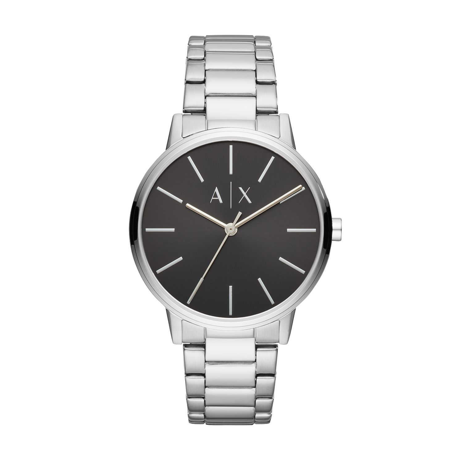 Armani Exchange Silver Stainless Steel Bracelet Watch - Product number 9431489