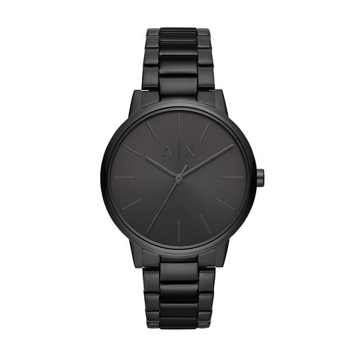 Armani Exchange Black Stainless Steel Bracelet Watch - Product number 9431497