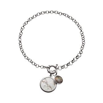 Emporio Armani Round Charm Silver Bracelet - Product number 9431721