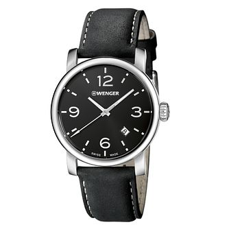 Wenger Urban Metropolitan Men's Leather Strap Watch - Product number 9432299
