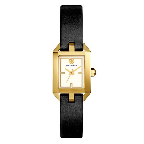 Tory Burch Dalloway Ladies' Yellow Gold Tone Strap Watch - Product number 9432833