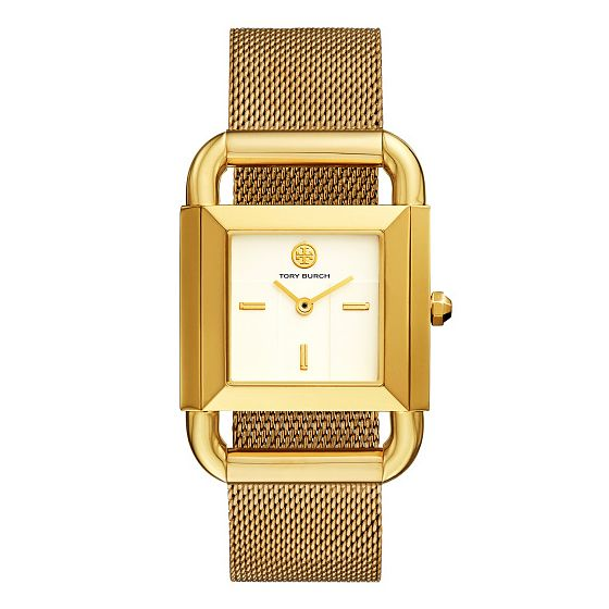 Tory Burch Phipps Ladies' Yellow Gold Tone Bracelet Watch - Product number 9433422