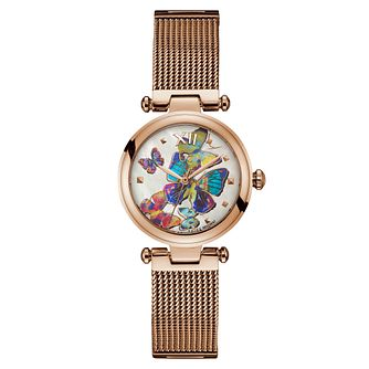 Gc PureChic Ladies' Rose Gold Mesh Bracelet Watch - Product number 9433708