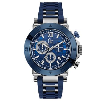 Gc 1 Sport Men's Blue Silicone Strap Watch - Product number 9433759