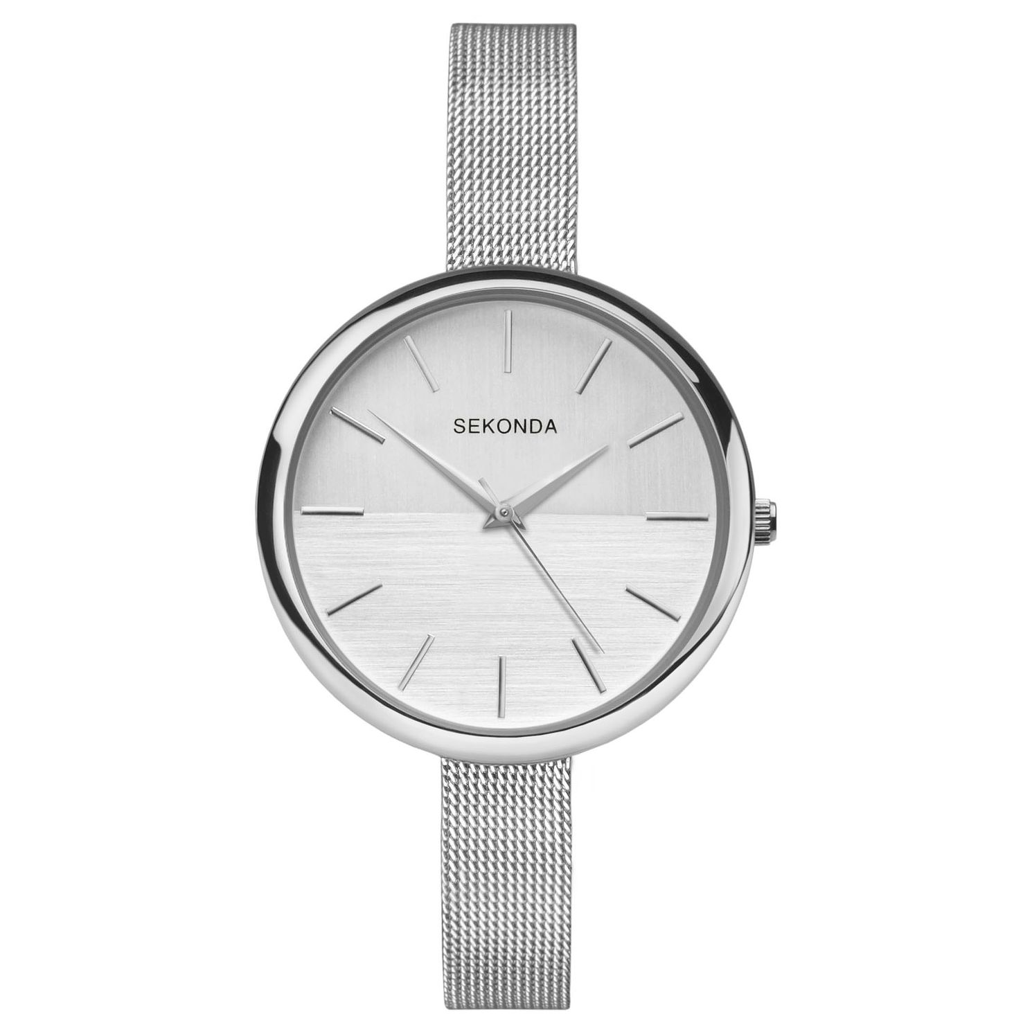 Sekonda Editions Ladies' Stainless Steel Mesh Bracelet Watch - Product number 9434135