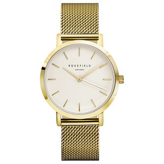 Rosefield Mercer Ladies' Gold Mesh Bracelet Watch - Product number 9435999