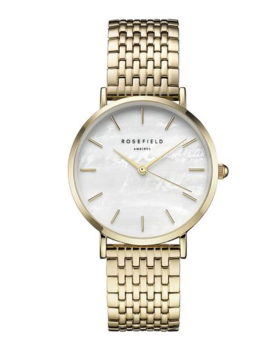 Rosefield Ladies' Gold Plated Stainless Steel Bracelet Watch - Product number 9436243