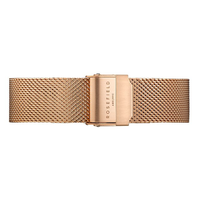 Rosefield Mercer Ladies' Rose Gold Mesh Watch Bracelet - Product number 9436588