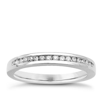 Platinum & Diamond Perfect Fit Eternity Ring - Product number 9437029