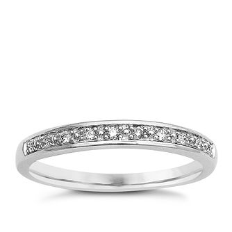 9ct White Gold & Diamond Perfect Fit Eternity Ring - Product number 9439242