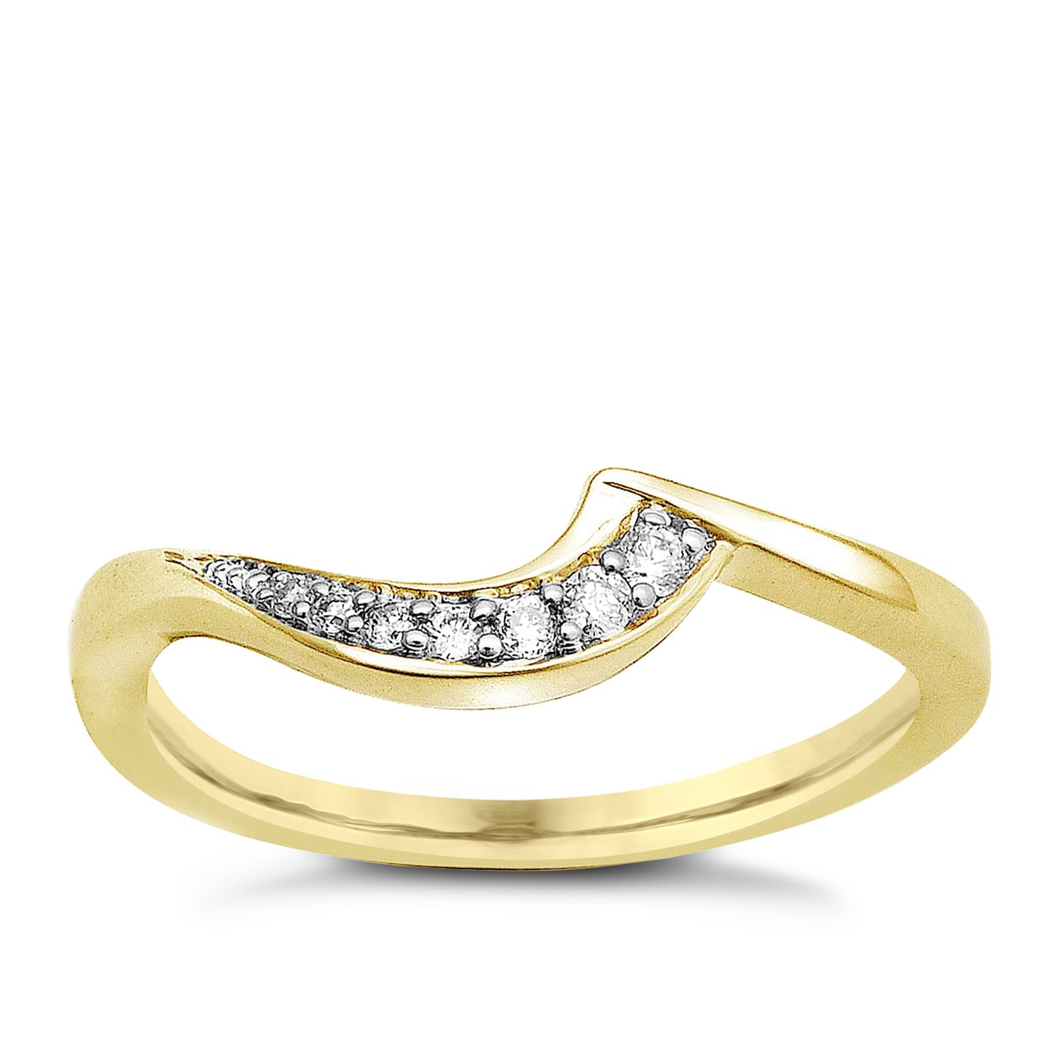 Perfect Fit 9ct Yellow Gold & Diamond Eternity Ring - Product number 9439501