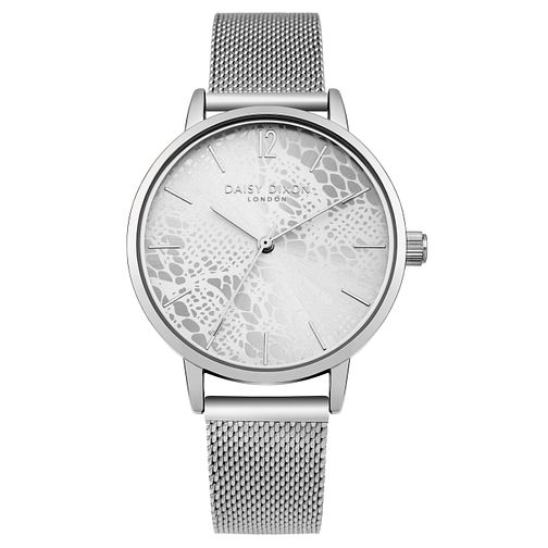 Daisy Dixon Darcy Ladies' Silver Tone Mesh Bracelet Watch - Product number 9443061