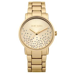 Daisy Dixon Aubrie Ladies' Gold Plated Bracelet Watch - Product number 9444343