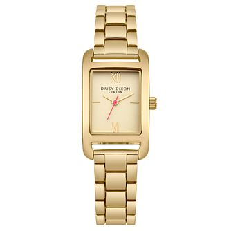 Daisy Dixon Nadine Ladies' Gold Plated Bracelet Watch - Product number 9444718