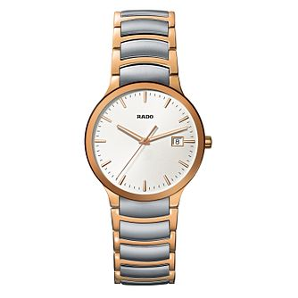 Rado Centrix Men's Two Tone Bracelet Watch - Product number 9446613