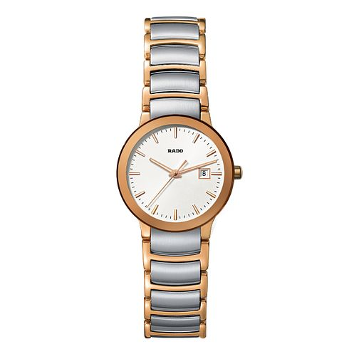 Rado Centrix ladies' two tone bracelet watch - S - Product number 9446621