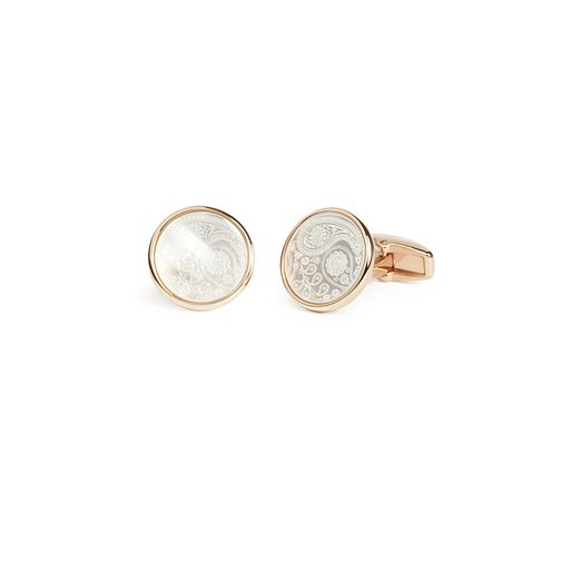 Simon Carter Limited Edition Men's Rose Gold Plated Cufflink - Product number 9448489