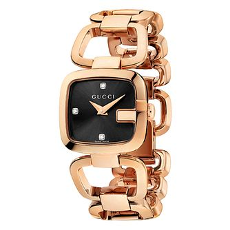 Gucci G-Gucci rose gold plated bracelet watch - Product number 9452176