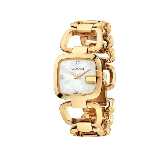 Gucci G-Gucci gold plated bracelet watch - Product number 9452214