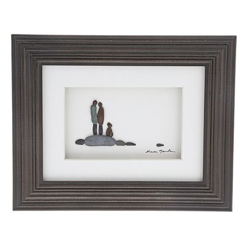 Sharon Nowland 'Loyal & True' Wood Framed Picture - Product number 9453180
