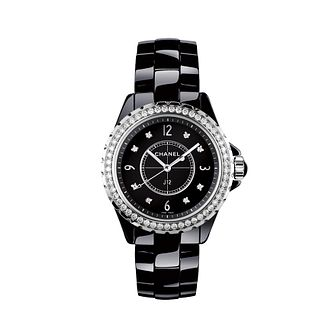 Chanel J12 ceramic diamond set bracelet watch - Product number 9454217